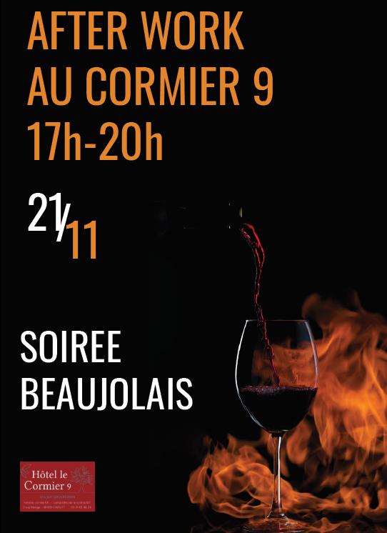 Afterkwork beaujolais nouveau 2019 à Cholet